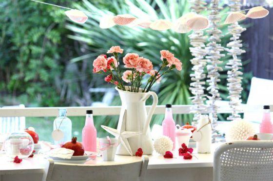 cupcake-liner-garland1 Cottage Style na praia - Doce recepção