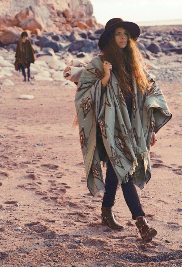 estilo-cigano Gipsy Fashion: moda com estilo cigano