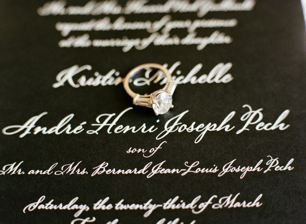 convite-preto-branco-casamento Casamento moderno em p&b