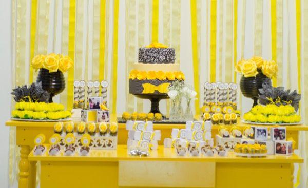 DSC_1416 Decoração para uma festa amarela