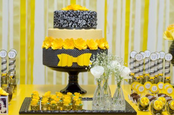 DSC_1777 Decoração para uma festa amarela
