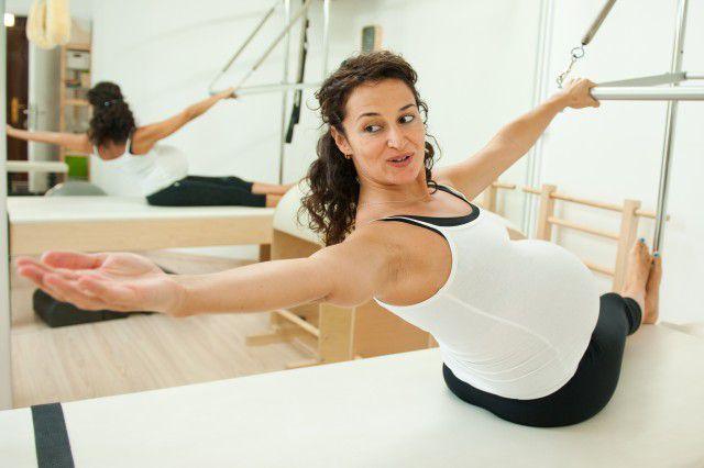 Grávida Pilates