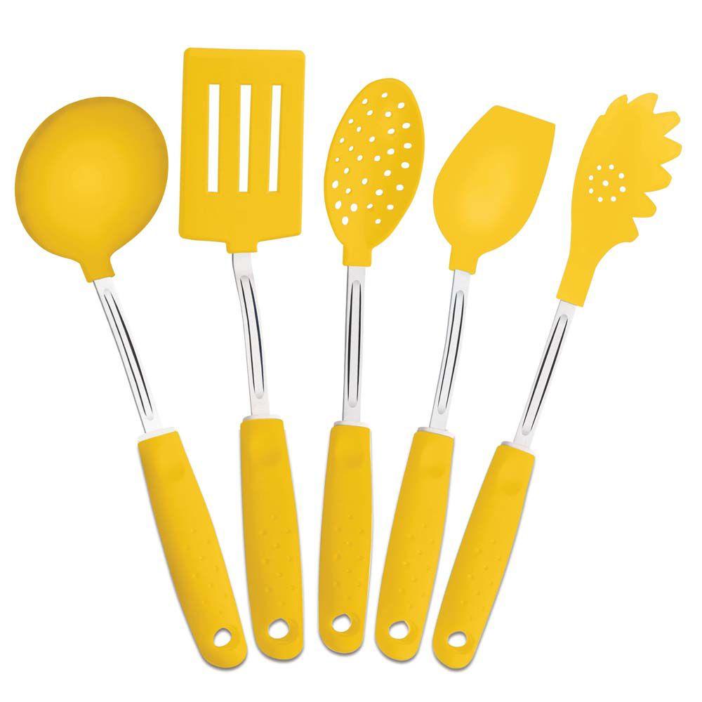 conjunto-utensilios Cozinha Amarela