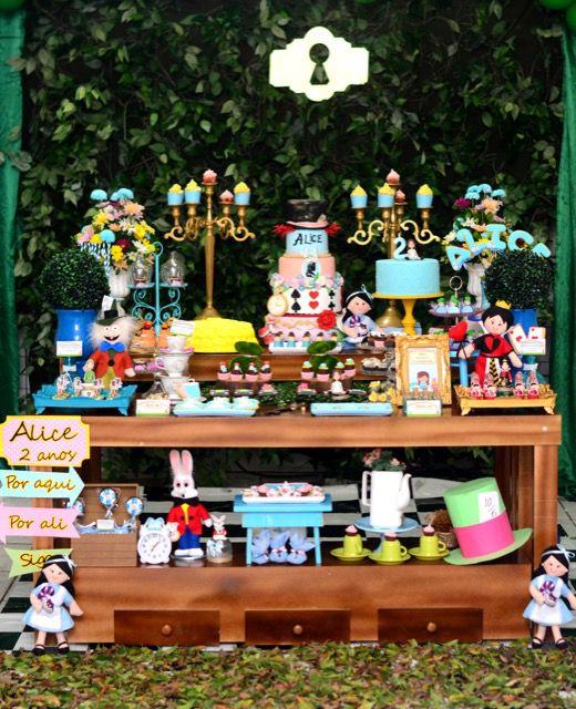 1 Festa Inspiração - Alice no País das Maravilhas