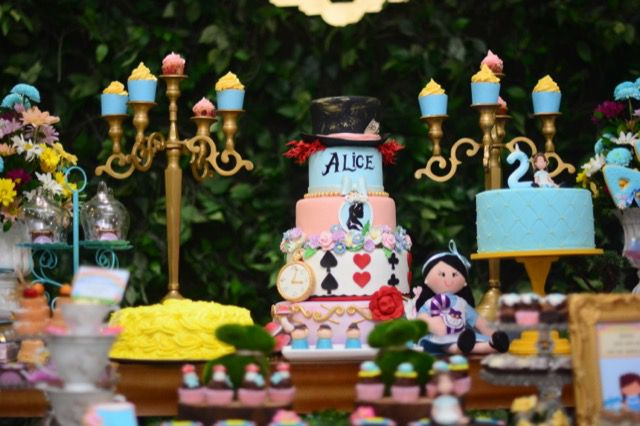 2 Festa Inspiração - Alice no País das Maravilhas