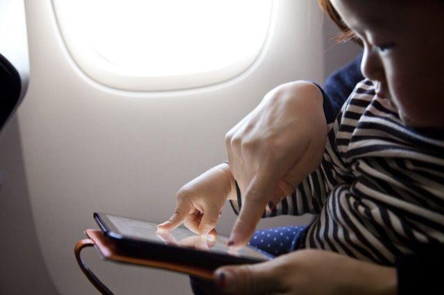 Aplicativos no Avião