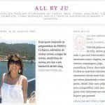 Entrevistinha no All by Ju