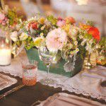 Centros de mesa floridos