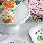 Chá com cupcakes