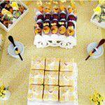 Chá da Lorena: tudo em amarelo