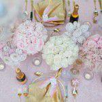 Pink e Champagne: chá surpresa