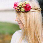 {DIY} Coroa de flores