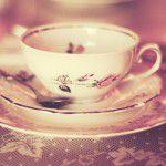 Chá com tema Vitoriano