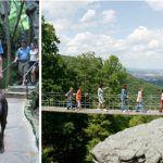 Rock City Gardens, uma trilha amigável para pets nos EUA