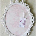 Shabby chic note boards