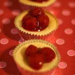 Super Easy Mini Cherry Cheesecakes