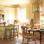 Lindas e espaçosas cozinhas no estilo country