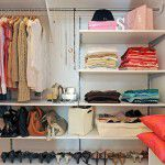 Sonho de closet organizado!