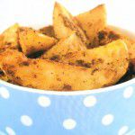 {Plat du week-end} batatas rústicas temperadas
