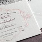 Convites e papelaria