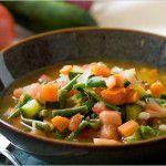 {Plat du week-end} Sopa de legumes