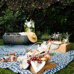 Cenas de um picnic provençal