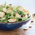 {Prato do dia} Ceasar salad