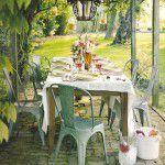 Almoço provençal ao ar livre