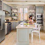 Cozinha e sala integradas