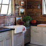 Cozinha country à moda antiga