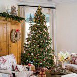 Cozinhas efeitadas para o Natal