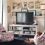 Sala de jogos e TV para os pequenos