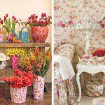 Decorando com flores