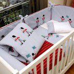 Temas fofos para quartos de bebê {meninos}