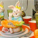Para enfeitar a mesa de Páscoa