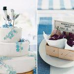 {Paleta de cores} Um casamento azul