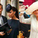 Os chapéus e fascinators do casamento real