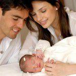 Nasceu Isabella, filha de Kaká e Caroline