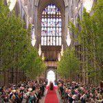 Verde na decoração do casamento {inspiração Catherine & William}