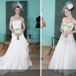 Maquiagem, penteados e vestidos de noivas {Base Aliada}