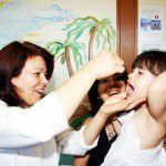 {Vacina contra Poliomielite} Proteja seu filho!