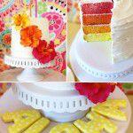 Aniversário colorido