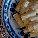 {Prato do fim de semana – Especial Dia dos Pais} Rigatoni com molho de gorgonzola