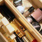 Organizando a maquiagem