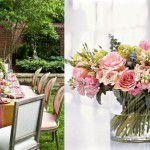 Decoração feminina {rosa + flores}