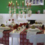 Idéias para montar sua mesa de Natal