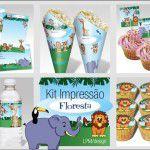 Kit Festa Floresta