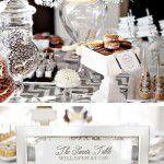 Mesa de doces pra o Réveillon