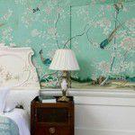 Papéis de parede pintados à mão de Gournay