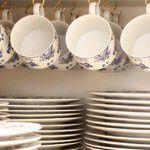 Como guardar suas xícaras